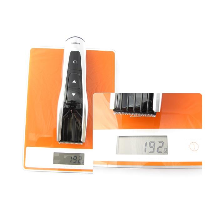 Zastřihovač váží pouhých 192 gramů