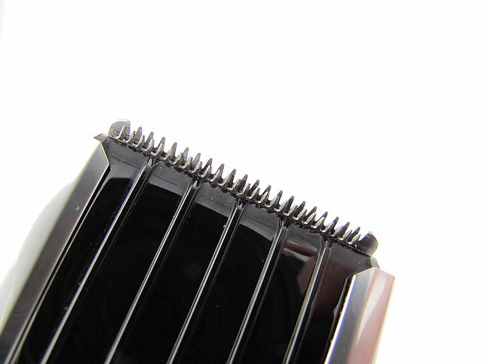 Makro záběr na střihací nože