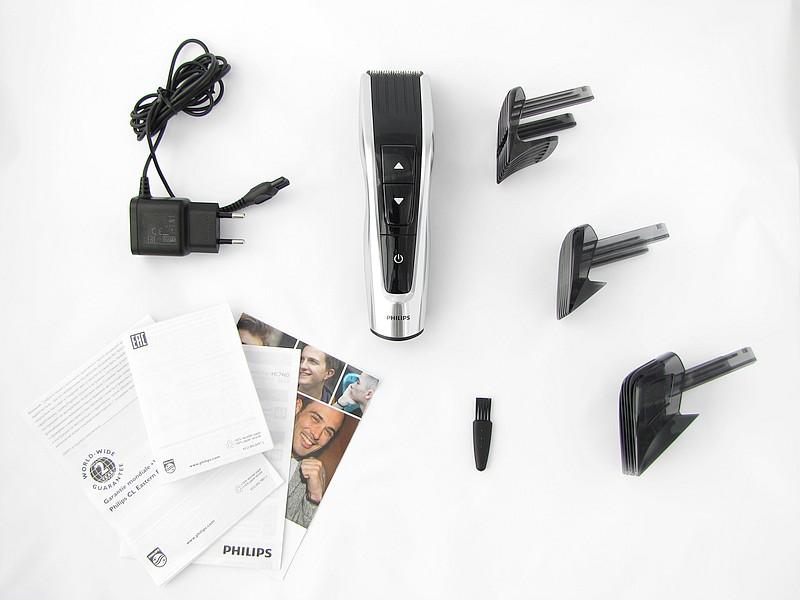 Philips HC7460/15 - obsah balení