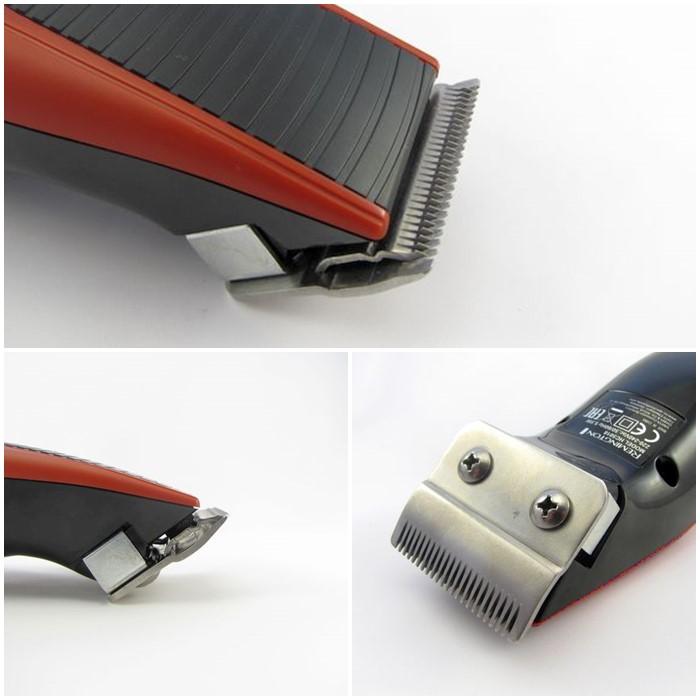 Model HC5018 má čepele vyhotoveny z nerezové oceli