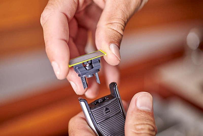 Břity u Philips QP6520/20 stačí měnit jednou za 4 měsíce