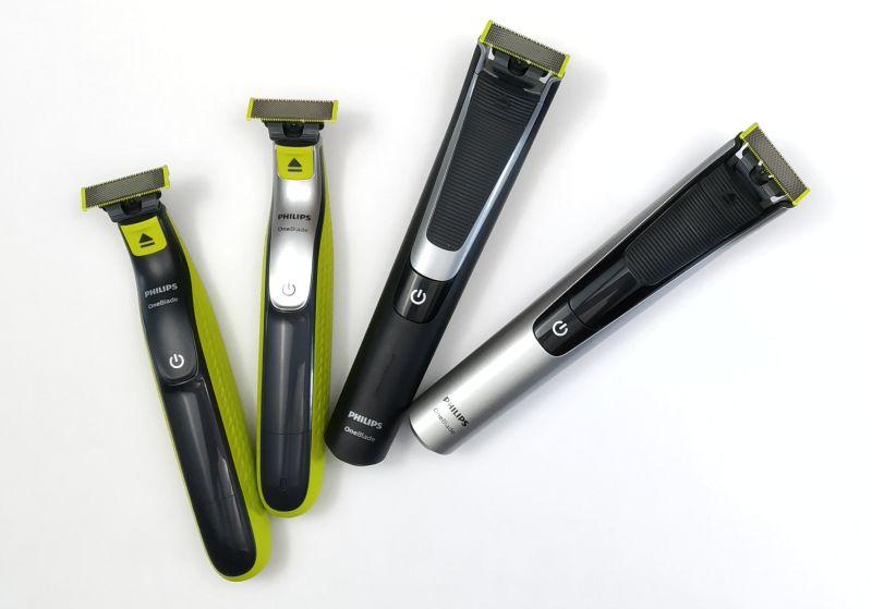 Čtyři populárn zastřihovače Philips OneBlade