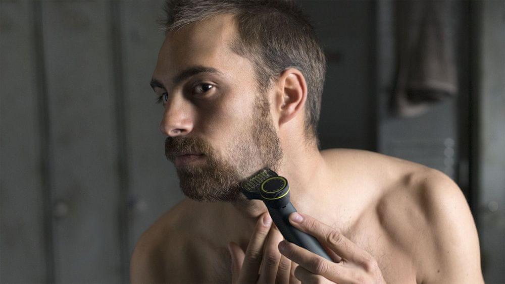 Philips OneBlade Pro QP6530/15 pomůže oholit vousy bez podráždění pokožky
