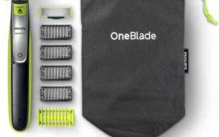 Philips OneBlade Face + Body QP2630/30 je sada hybridního zastřihovače a nástavců na bezpečné holení těla